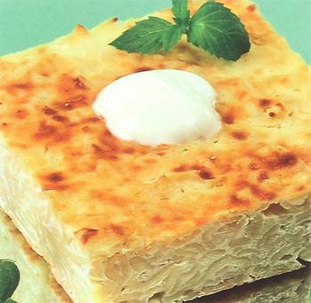 Рецепт лапшевника с яйцом