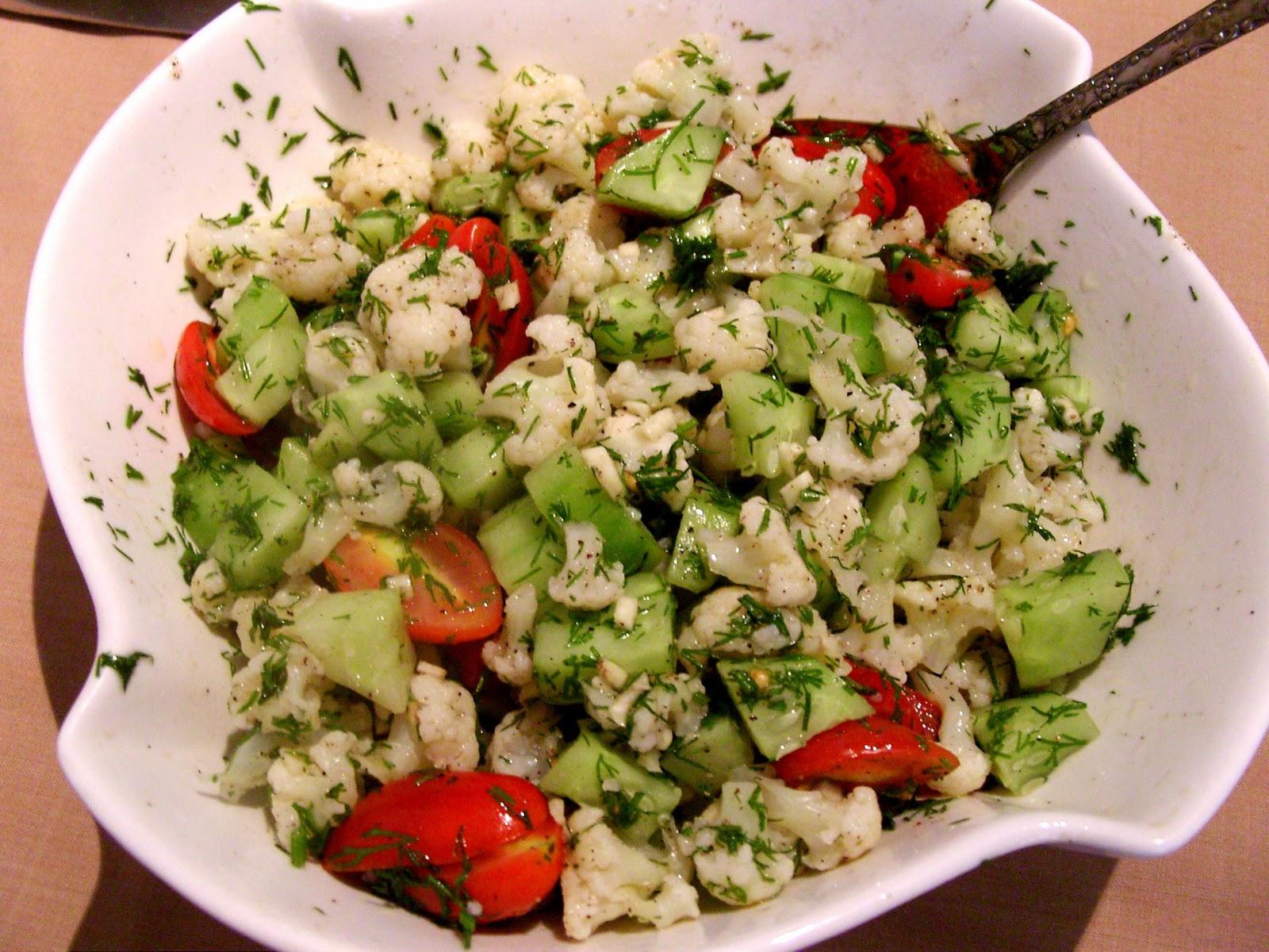 Как сделать легкий салат рецепт с фото