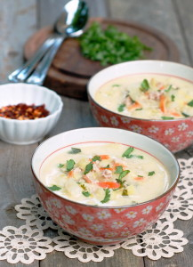 суп с молоком