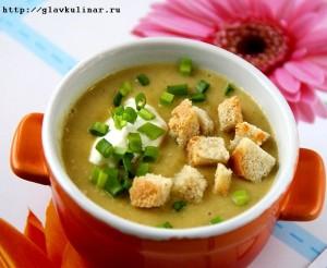Куриный суп из цветной капутсы