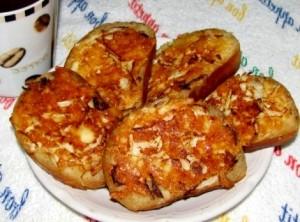 Вкусный бутерброд быстро
