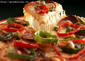 Жареная пицца за 5 минут
