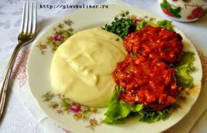 Котлеты с томатной подливой