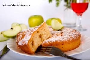 яблочная шарлотка рецепт