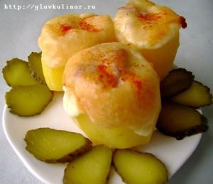 картофель с сюрпризом (черри)