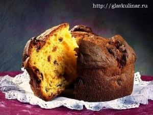 пасхальный кулич по монастырскому  рецепту