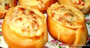 пицца в батоне по-мужски