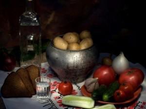 картошка под водочку
