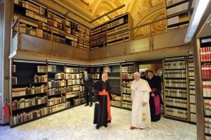 библиотека Ватикана