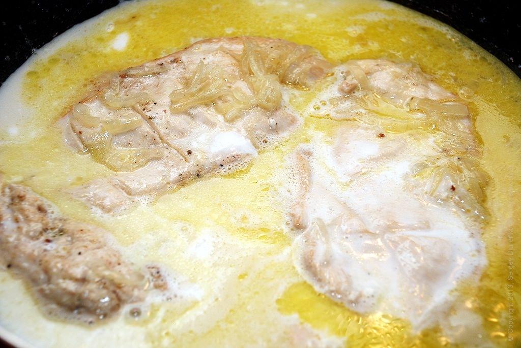 курица с кокосовым молоком рецепт с фото